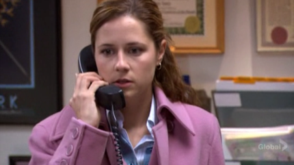 The Office - Pam Answering Phone